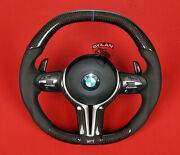 Bmw M5 F10 F11 Carbon Steering Wheel Real Carbon Made In Germnany .