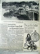 1969 Newspaper Ted Kennedy Chappaquiddick Incident Vies With 1st Man On The Moon