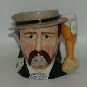Royal Doulton Mid Size Character Jug Wild Bill Hickock D6736 Wild West Series