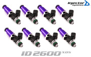 Injector Dynamics 2600-xds Fuel Injector 8pc 60mm For Firebird Trans-am Gto