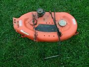 Gravely Ariens 1440h Sierra Tractor 40 Mower Deck Assembly Parts Repair