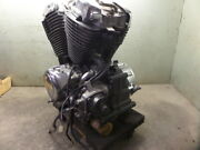 1995 Honda Shadow Vt1100 Complete Engine No Right Side Clutch Cover