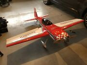 Great Planes Extra 300s 1/4 Scale With Fuji Bt-50sa Engine And Futaba Servos