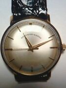 Bailey Banks And Biddle Vintage 14kt Real Gold Mens Watch Hard To Find Rare