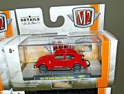 M2 Machines Auto Mods 1953 Vw Beetle Deluxe U.s.a. Model Red Bug