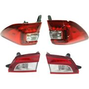 Set Of 4 Tail Lights Lamps Left-and-right Inside Lh And Rh For Subaru Outback