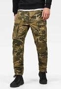 G-star Raw Rovic 3d Straight Tapered Sage Hawaii Camouflage Army Cargo Pants