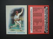 Phillies Baseball Cards Your Pick Choose Topps 1985 1986 1987 Rare