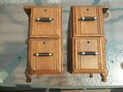 Early Wheeler And Wilson Sewing Machine Cabinet Drawers And Frames