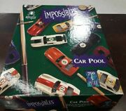 Bepuzzled Impossibles Car Pool 750 Piece Borderless Puzzle Open Box