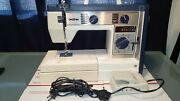 Brother Vx760 Sewing Machine W Pedal And Carrying Case-rare Vintage Looks Nice