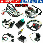 50cc-125cc Cdi Wire Harness Stator Assembly Wiring Kit For Chinese Atv Quad Quad