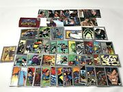 Vintage 1993-1995 Dc Superman Skybox Lois And Clark Collectible Cards Mixed Lot