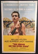 Bridge On The River Kwai Original Movie Poster Holden Guiness Hollywood Posters