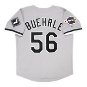 Mark Buehrle Chicago White Sox 2005 World Series Grey Road Menand039s Jersey M-2xl