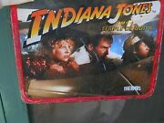 Vintage Thermos 1984 Indiana Jones And Temple Full Lunch Box No Thermos As Is