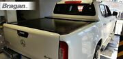 Tri Fold Soft Tonneau Cover For Ford Ranger 2016+ Back Rear Lid Cover Non Drill
