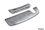 Bumper Guard For Audi Q3 2012-2015 4x4 Front And Rear Skid Plate Spoiler Protector