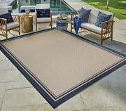 Gertmenian Tropical Collection Outdoor Rug Patio Area Carpet 5x7 Standard Bord