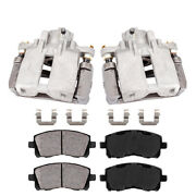 Rear Oe Brake Calipers And Pads For 2003 - 2007 Cadillac Cts