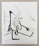 Albert Oehlen, Signed And Numbered Lithograph 2020, Hirst Richter Rauch Polke