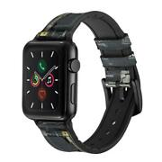 Ca0762 Inside Mobile Phone Graphic Apple Watch Band Strap For Iwatch Series