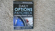 Daily Options Paycheck Chris Verhaegh Audio Book, 2013 Great Content.