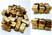1500 Grams Scrap Gold Bar For Gold Recovery Melted Different Computer Coin Pins