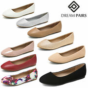 Dream Pairs Womenand039s Slip On Ballerina Ballet Flats Casual Comfort Flat Shoes
