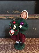 Byers Choice Carolers-2020 Glass Ornament Girl