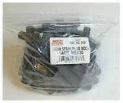 Msd 3467 50-pack Spark Plug Wire Boots Gray Hemi Tubes Rynite