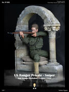 16 Facepoolfigure Fp003b France 1944 Wwii Us Ranger Private Sniper Collectible