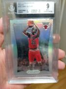 2012 Prizm Jimmy Butler Silver Rc Bgs9 With 10