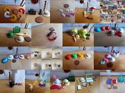 Playmobil New Doll House Spares Choice - Hats Bag Purses Wigs Case Bicorne Sling