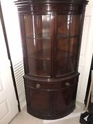 Drexel Furniture Court Collection Display China Cabinet 1958 Mid-century