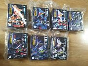 Transformers Tetra Squadron Impossible Toys 3rd Party Lot Of 7 Seekers
