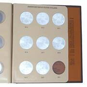 2011-2020 Silver Eagle 10 Coin Starter Set In Dansco Deluxe American Eagle