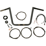 La Choppers Black 16 And03917 Fltr Handlebar And Cable Kit | La-7312kt1-66b
