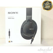 New Sony Headphone Mdr-1am2 Black 2018 High Resiso Sealed Type Ems From Japan