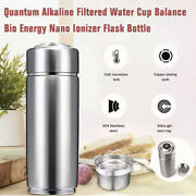 New Alkaline Water Stainless Steel Energy Nano Flask With Filter