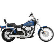 Bassani Xhaust 21 Exhaust - Chrome - Megaphone - Short - And03991-and03905 Fxd   13312r