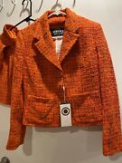Versace Jeans Couture Suit With Tags