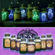 New Disney Parks Haunted Mansion Host A Ghost 8 Jar Set 50th Anniversary