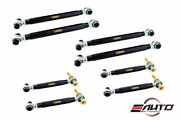 Megan Mkr Compete 8pc Rear Camber+toe+trailing Arm For Bmw M2 F87 M3 F80 M4 F82