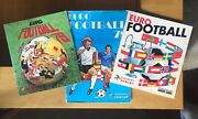Complete Panini Euro Football 1977 1978 And 1979 77 78 And 79 Vgc