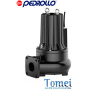 Double Channel Submersible Pump Sewage Water Pmc 40/50 10m 4hp 400v Pedrollo