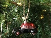 Pottery Barn Mercury Bettle Vintage Car Ornament Sold Out At Pottery Barn Rare