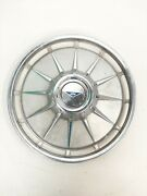 Qty 1 Vintage 1961 Chevrolet Corvair 13-inch Hubcap Wheelcover F325