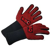 Bbq Gloves Heat Resistant Barbecue Grill Glove Oven Mitts Silicone