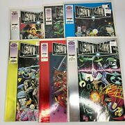 Deathmate - Prologue Black Yellow Blue Red And Epilogue - Lot Of 6 - Valiant 1993